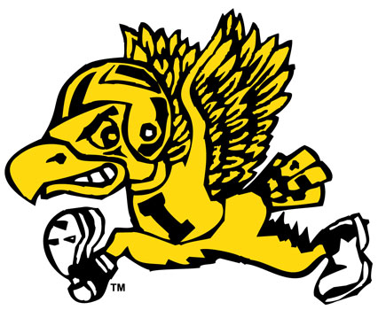 University of Iowa Wall Decals | Old School Collection, Flying ...