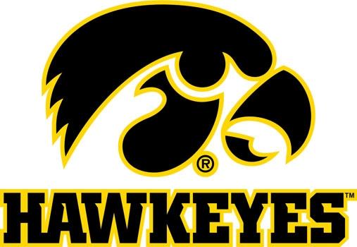 University Of Iowa Wall Decals Hawkeyes Tigerhawk