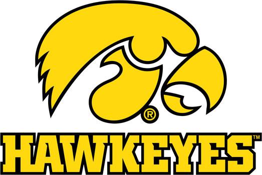 University of Iowa Wall Decals | Hawkeyes Tigerhawk multicolored