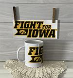Fight For Iowa Coffee Mug