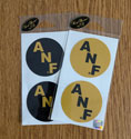 ANF Circle vinyl decal set