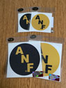 ANF Circle vinyl decal, America Needs Farmers