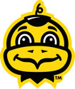 Iowa Baby Herky Head, Vinyl Decal
