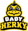 Iowa Baby Herky Head 2, Vinyl Decal