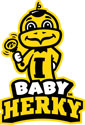 Iowa Baby with Rattle 2, Vinyl Decal