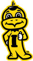 Iowa Baby Herky Thumbs Up 1, vinyl decal