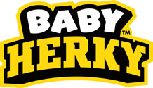 Iowa Baby Herky Wordmark, Vinyl Decal