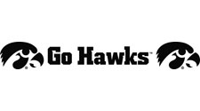 Iowa Hawkeyes, Go Hawks with double Tigerhawks