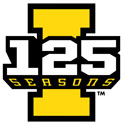 Iowa Hawkeyes, 125 Seasons Vinyl Car Decal