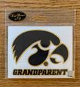 Iowa Grandparent, Tigerhawk Logo Vinyl Decal