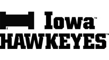 Iowa Hawkeyes Wordmarks Set