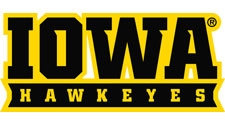 Iowa Hawkeyes Wordmark - Iowa Hawkeyes 1