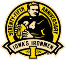 Iowa Hawkeyes Iowa's Ironmen 75th Anniversary, vinyl
