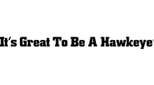 Iowa Hawkeyes Wordmark - It's Great To Be A Hawkeye,