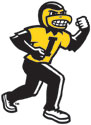 University of Iowa Traditional Herky,  Vinyl Car Decal