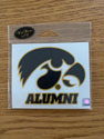 Iowa Alumni, Tigerhawk Logo Vinyl Decal