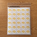 Iowa Tigerhawk Mini Decal set 1