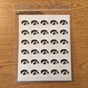 Iowa Tigerhawk  Decal Mini set 2, Correspondence Stickers