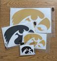 Iowa Hawkeye Tigerhawk Vinyl Decal
