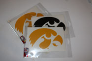 University of Iowa Tigerhawk Logo