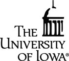 University of Iowa with Dome, vinyl decal