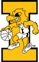 Iowa Basketball Vintage Herky, Vinyl Car Decal 3